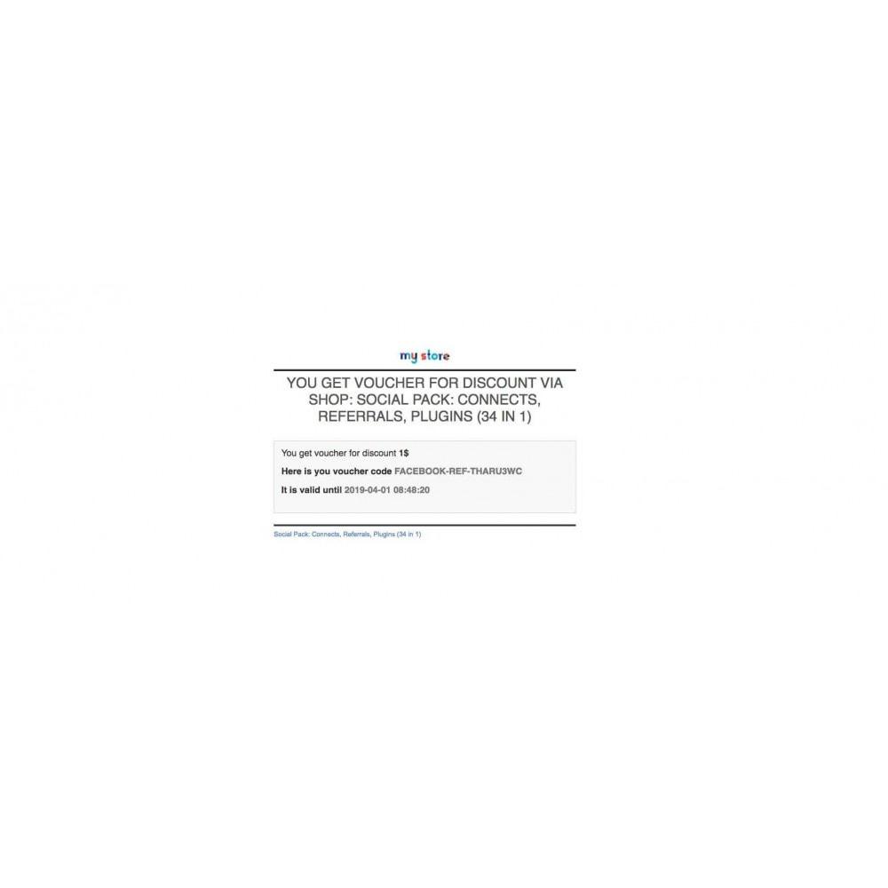 module - Boutons Login & Connect - Social Pack: Connexions, Parrainages, Plugins (34 en 1) - 22