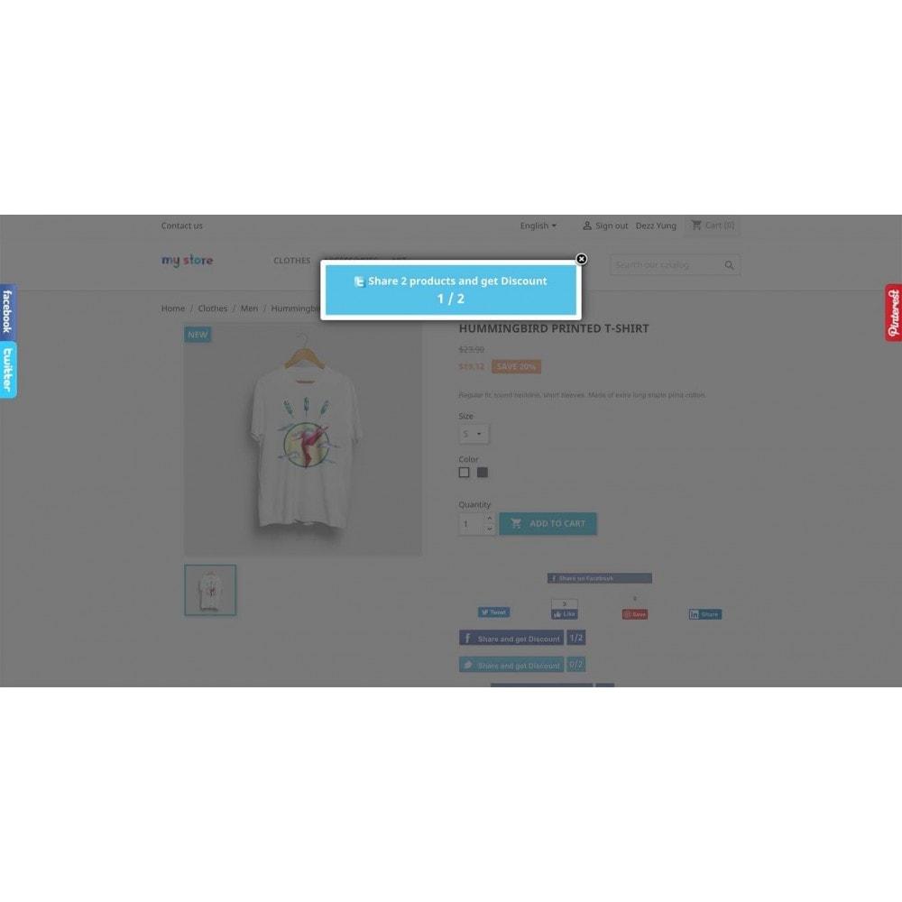 module - Boutons Login & Connect - Social Pack: Connexions, Parrainages, Plugins (34 en 1) - 23