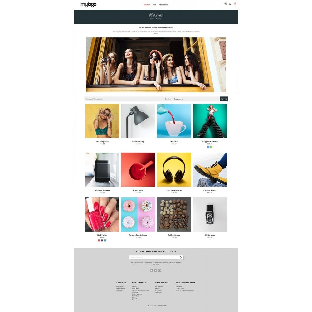 theme - Gifts, Flowers & Celebrations - Snazzy multipurpose modern store with banner grid - 3
