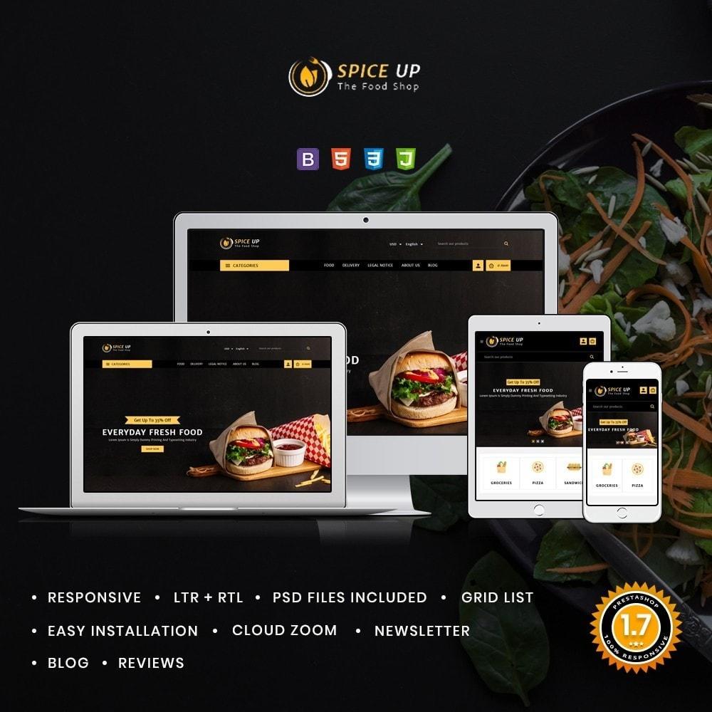 theme - Żywność & Restauracje - Spiceup - Food Club - 1