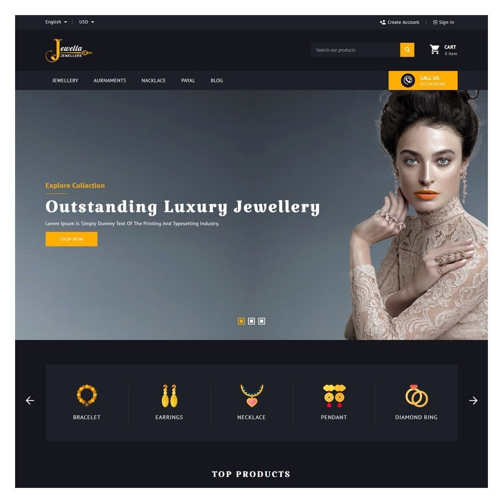 theme - Jewelry & Accessories - Jewella Jewelry & Accessories - 2