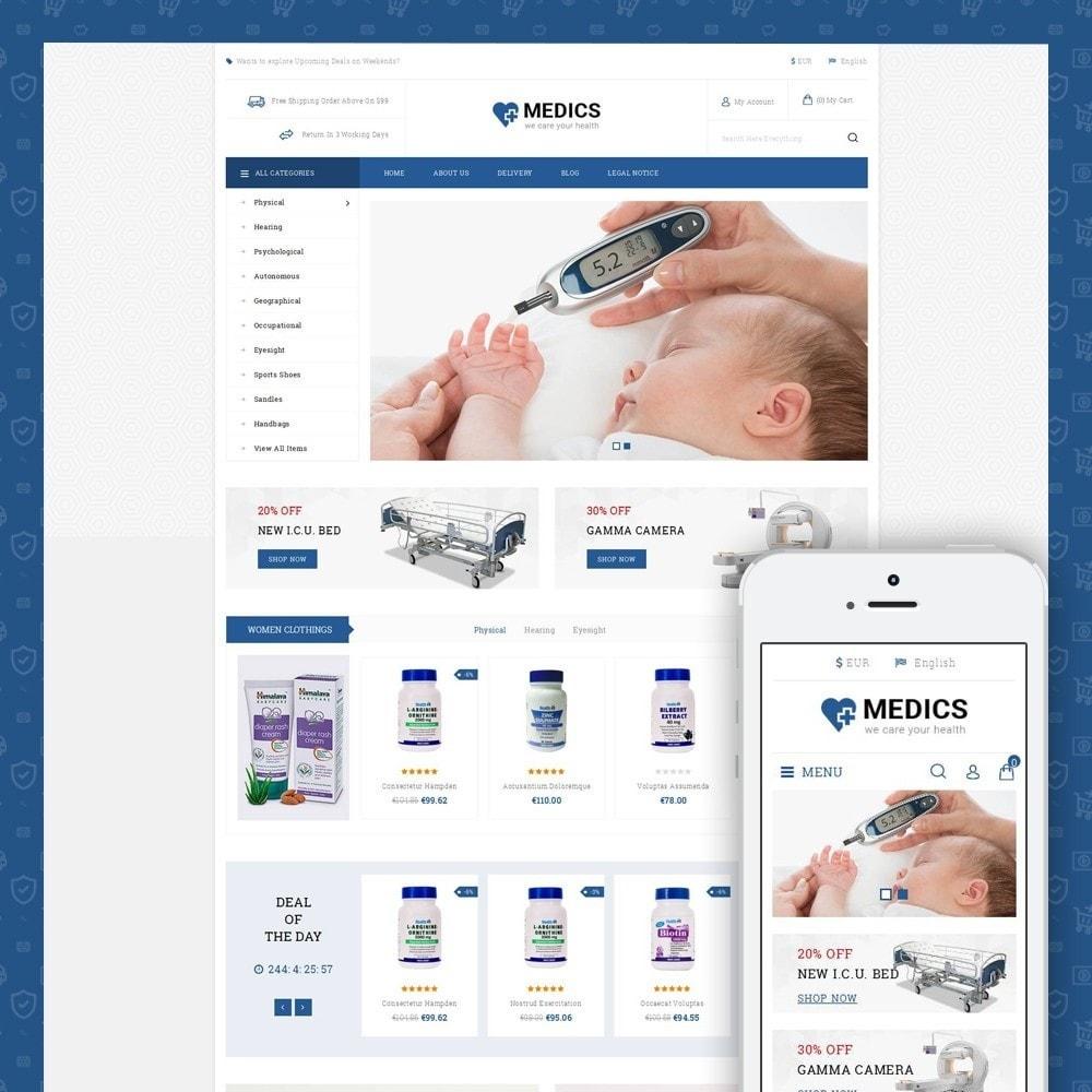 theme - Health & Beauty - Medics - Medical Store - 1