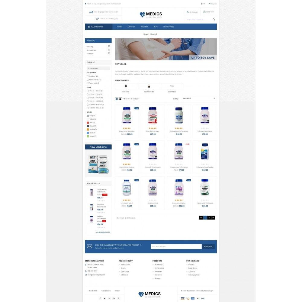 theme - Health & Beauty - Medics - Medical Store - 3