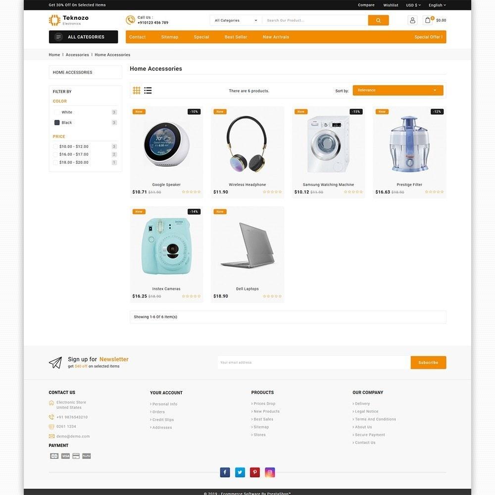 theme - Electronics & Computers - Teknozo - The Electronics Store - 3