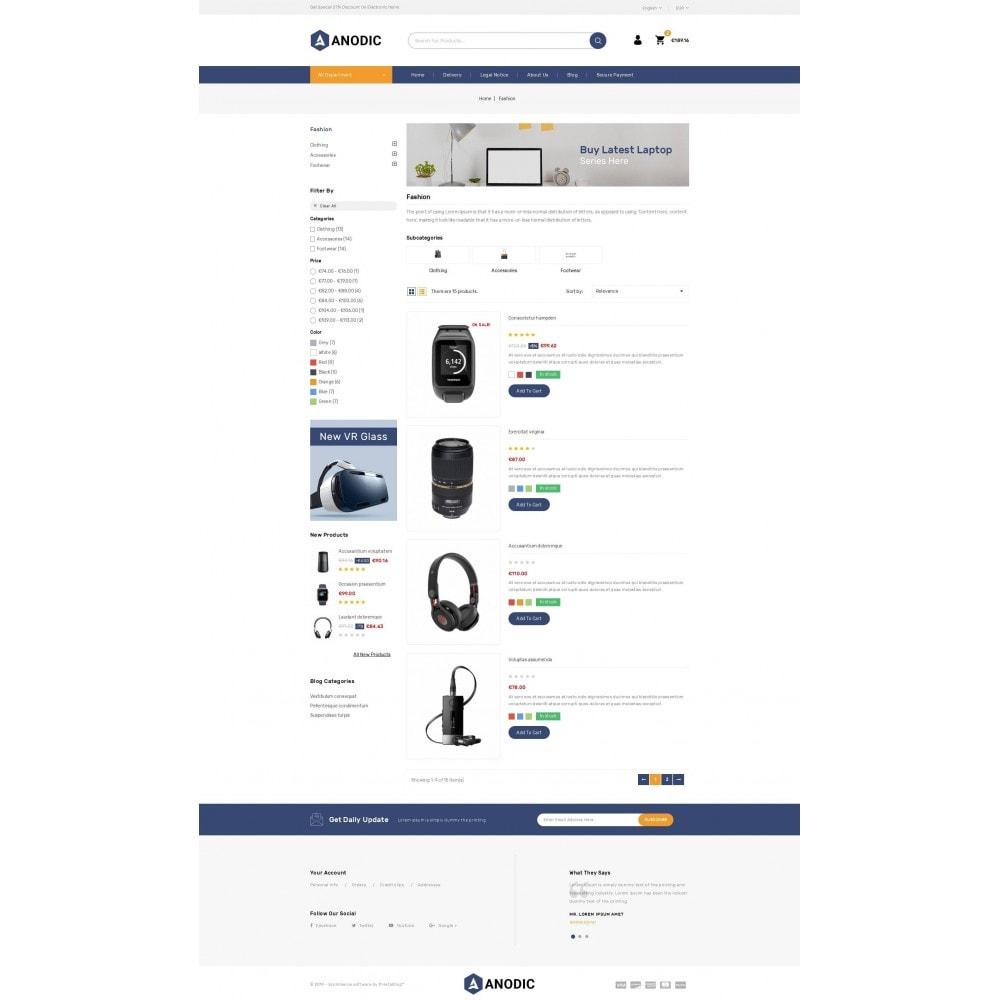 theme - Eletrônicos & High Tech - Anodic - Electronic Gadget Store - 4