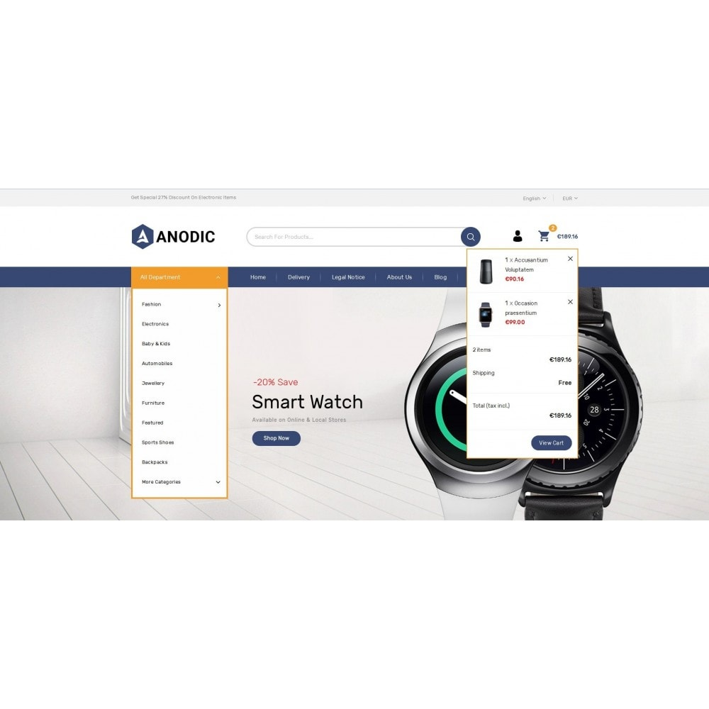 theme - Eletrônicos & High Tech - Anodic - Electronic Gadget Store - 8