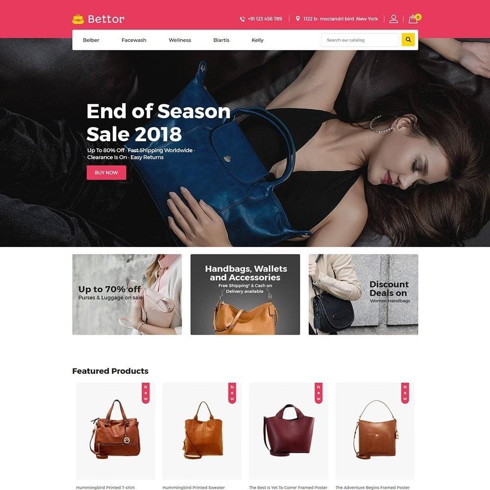 theme - Fashion & Shoes - Bettor Bag - Fashion Store - 2