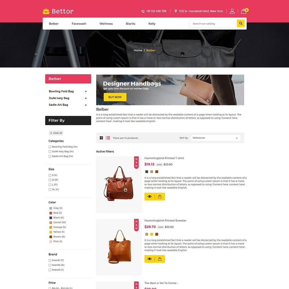 theme - Fashion & Shoes - Bettor Bag - Fashion Store - 4