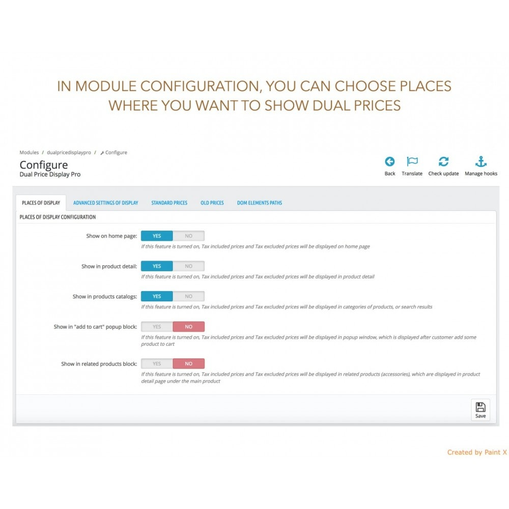 module - Gestione Prezzi - Visualizzazione avanzata duplice prezzo con e senza IVA - 7