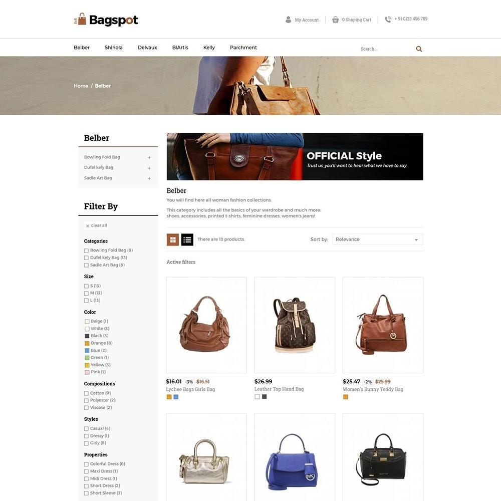 theme - Fashion & Shoes - Bagspot - Bag Fashion Store - 3