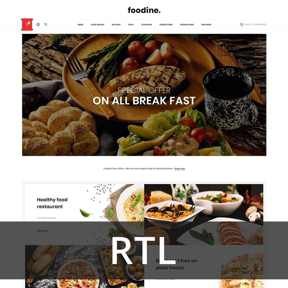 theme - Продовольствие и рестораны - Foodline - The Food Restaurant - 3
