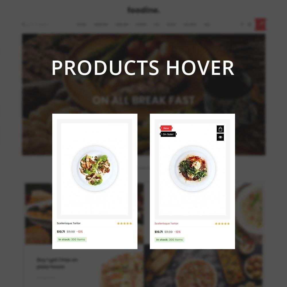 theme - Продовольствие и рестораны - Foodline - The Food Restaurant - 12