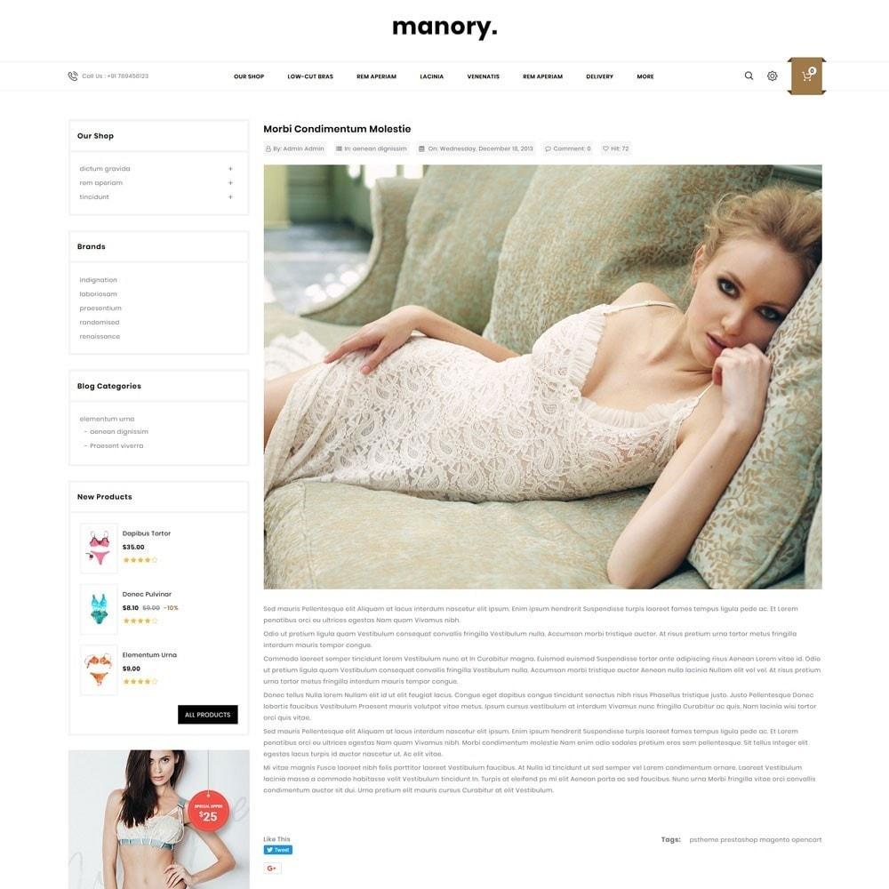 theme - Нижнее белье и товары для взрослых - Manory - The Lingerie Shop - 7