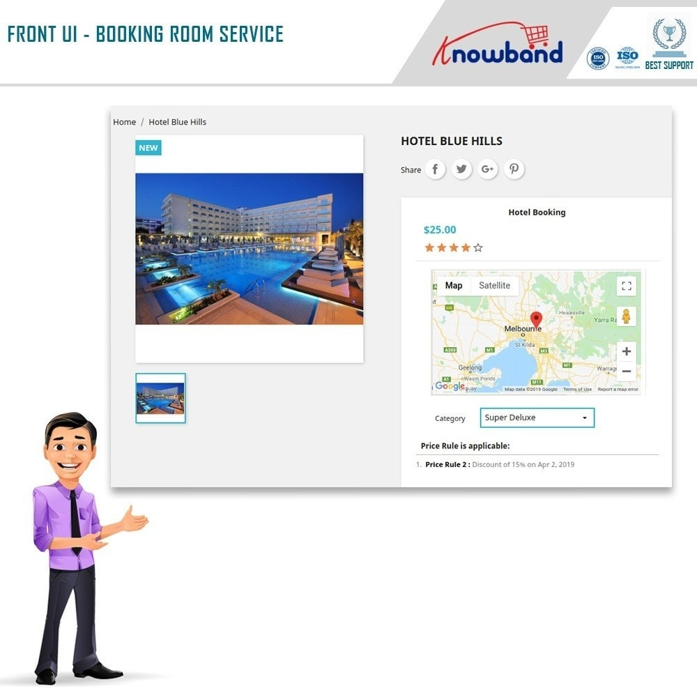 module - Reservation & Rental System - Knowband - Booking and Rental System - 1