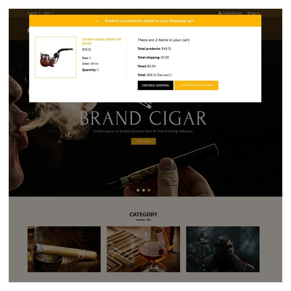 theme - Drink & Wine - Cigar Drink & Tobacco - 6