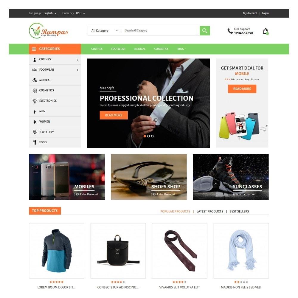 theme - Fashion & Shoes - Rumpas Minimal Shop - 2
