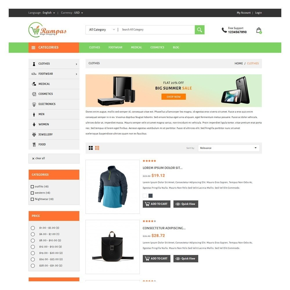 theme - Fashion & Shoes - Rumpas Minimal Shop - 4