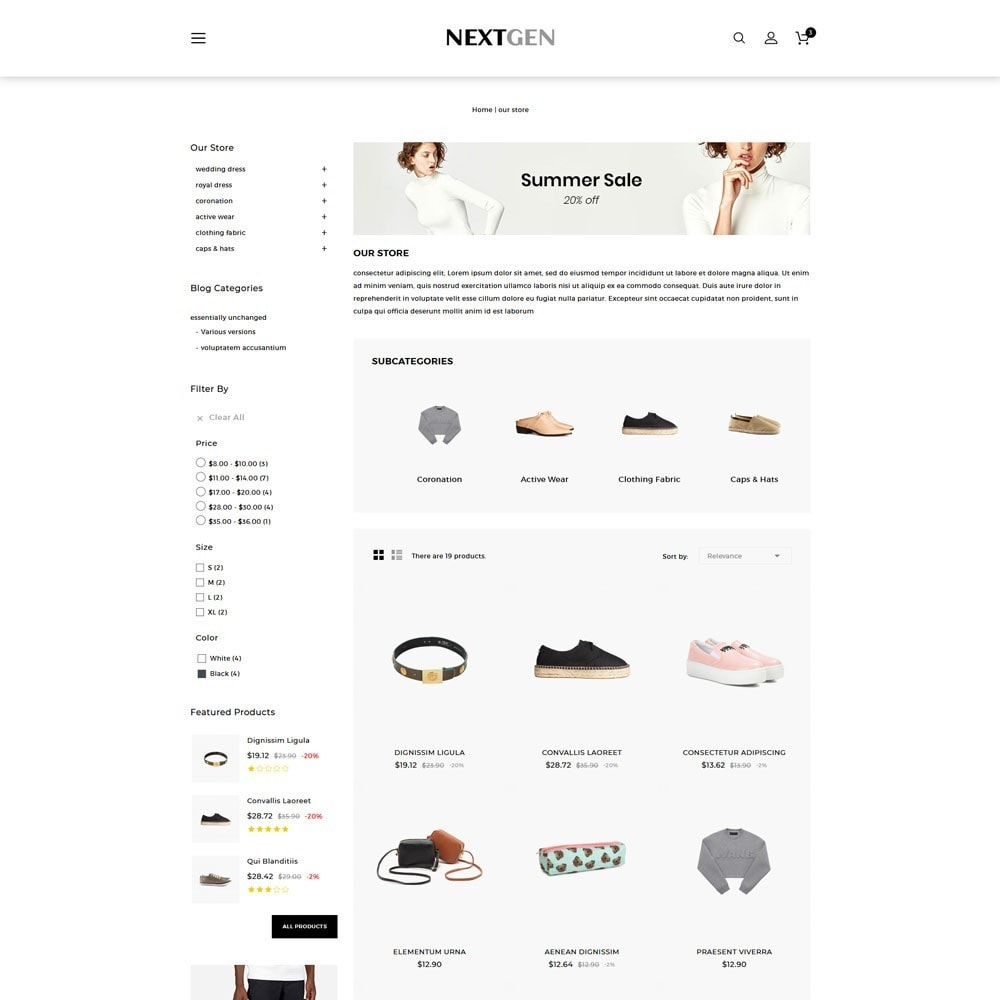 theme - Moda & Calçados - Nextgen - The Fashion Store - 4