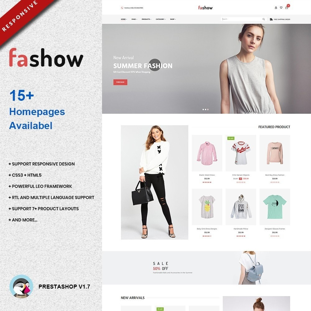 theme - Moda & Calzature - Fashow - Trendy Fashion Store - 1