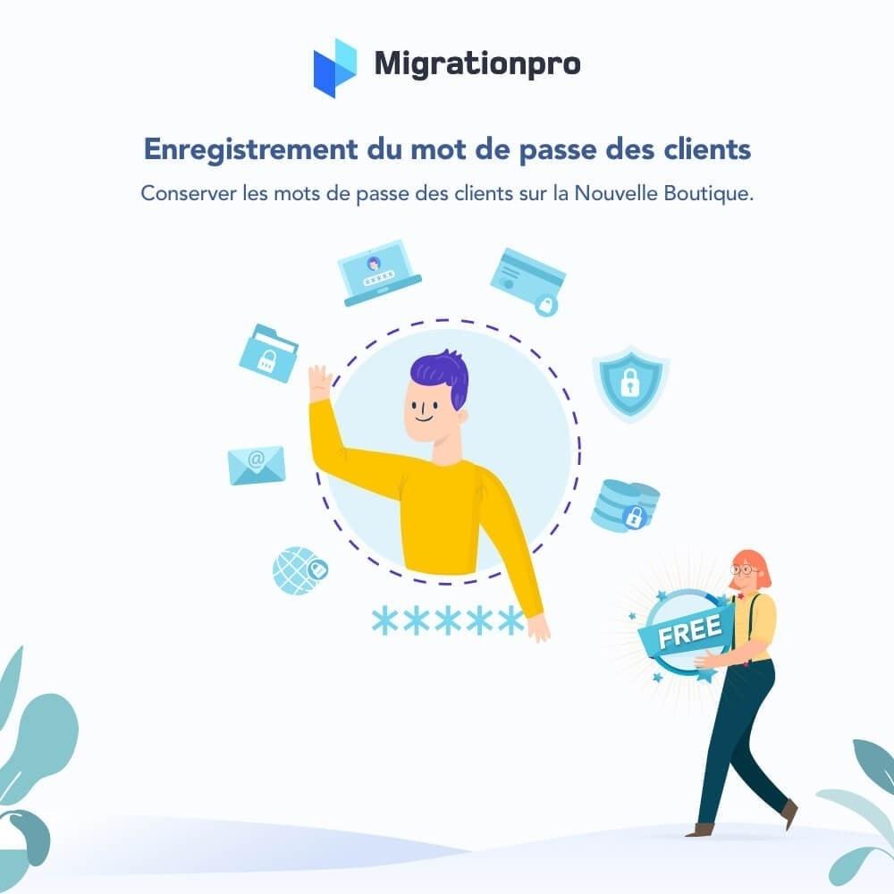 module - Migration de Données & Sauvegarde - Outil de migration PrestaShop - 4