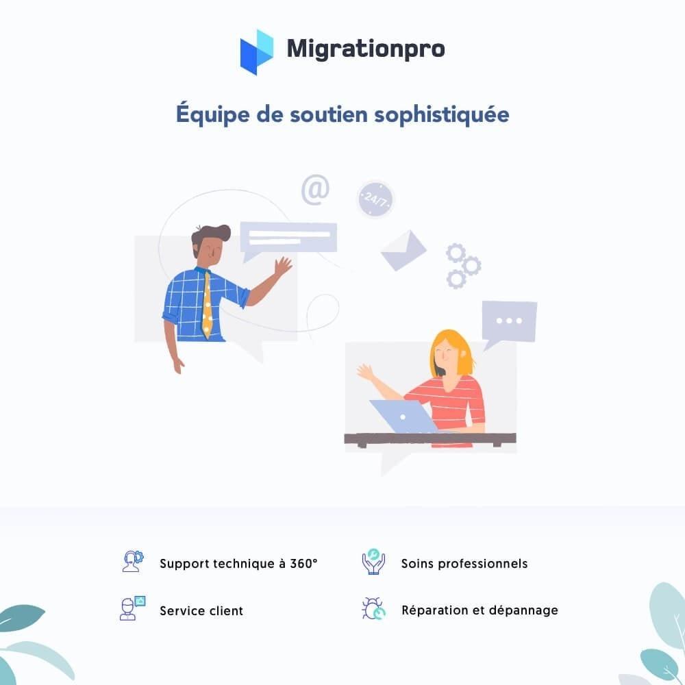 module - Migration de Données & Sauvegarde - Outil de migration PrestaShop - 8