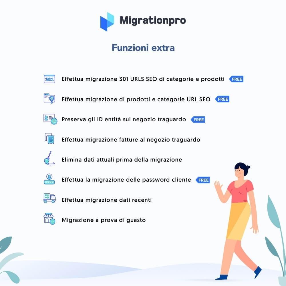 module - Data Migration & Backup - Tool di Aggiornamento e Migrazione di Prestashop - 5