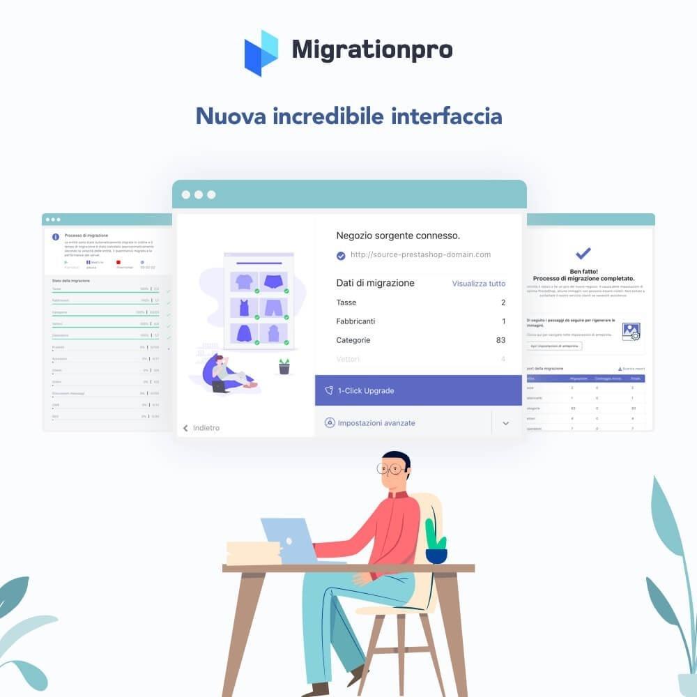 module - Data Migration & Backup - Tool di Aggiornamento e Migrazione di Prestashop - 6