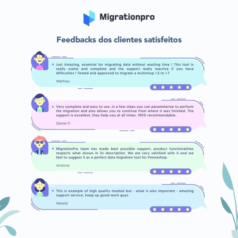 module - Migração de Dados & Registro - Upgrade PrestaShop e ferramenta de Migração - 9