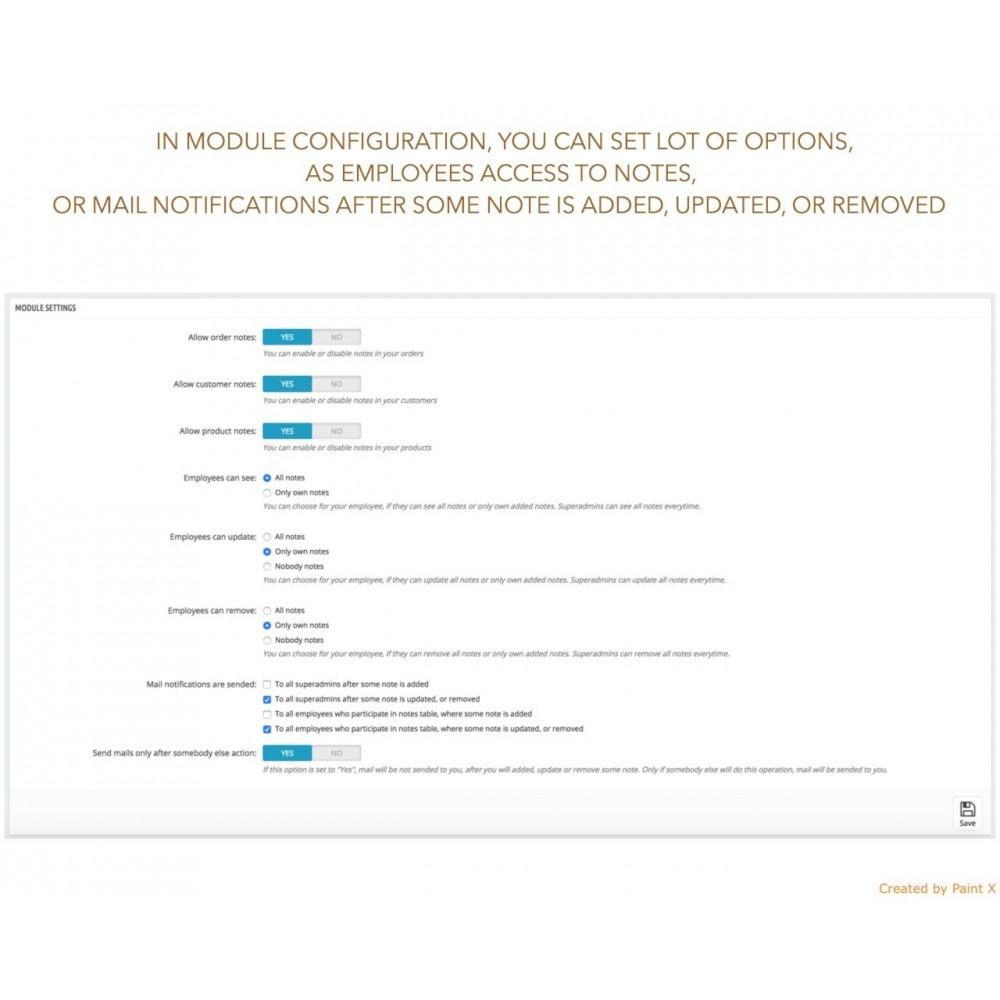 module - Iscrizione e Processo di ordinazione - Note avanzate per ordini, prodotti e clienti - 4