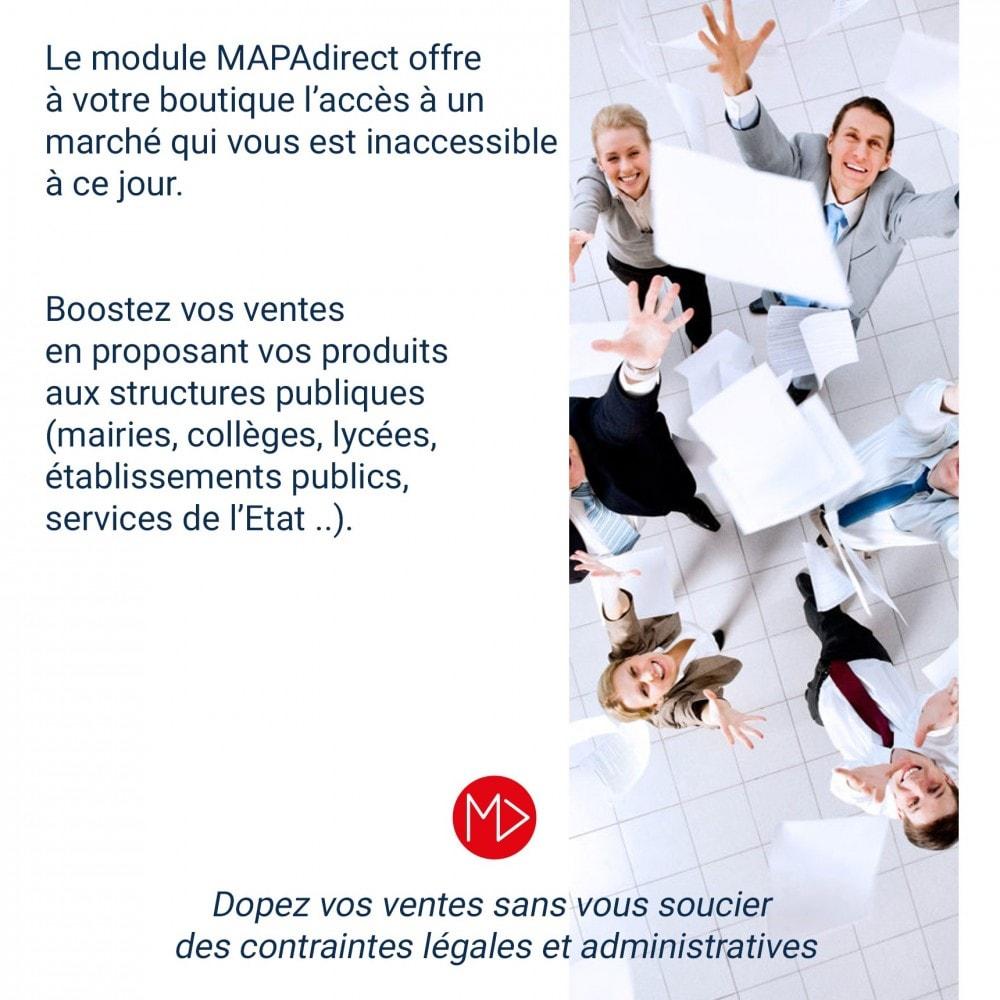module - Marketplaces - MAPAdirect : la seule marketplace dédiée aux acheteurs publics en France - 2