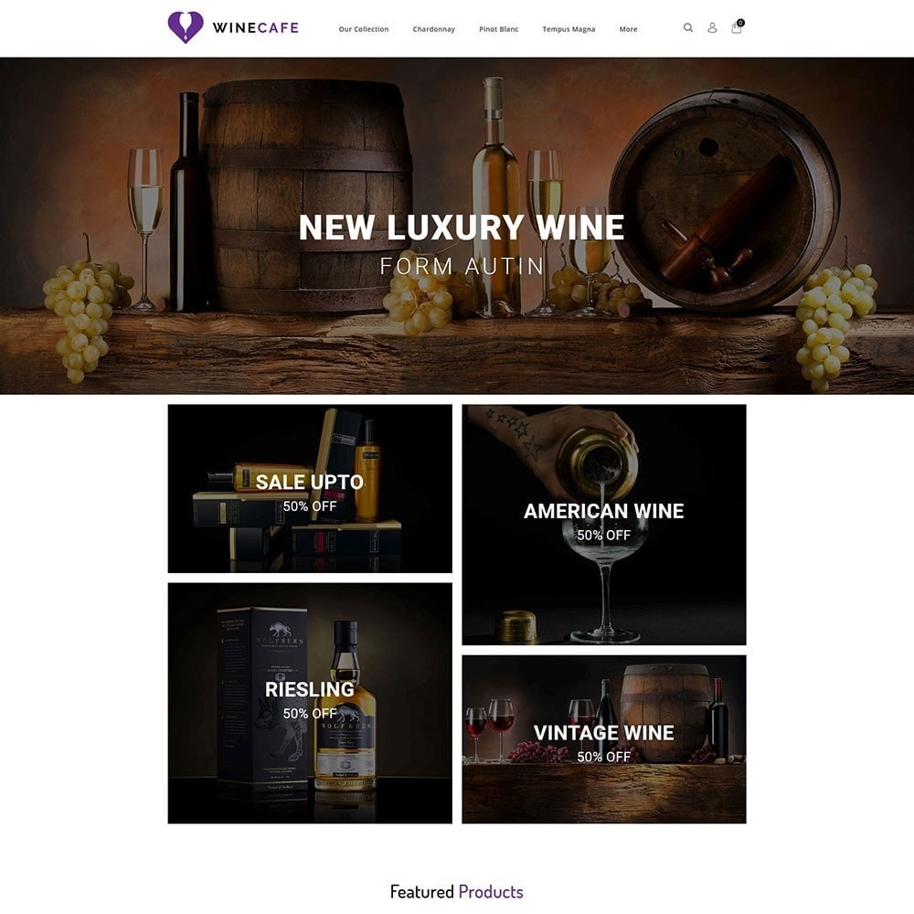 theme - Bebidas & Tabaco - Winecafe - The Wine Store - 2