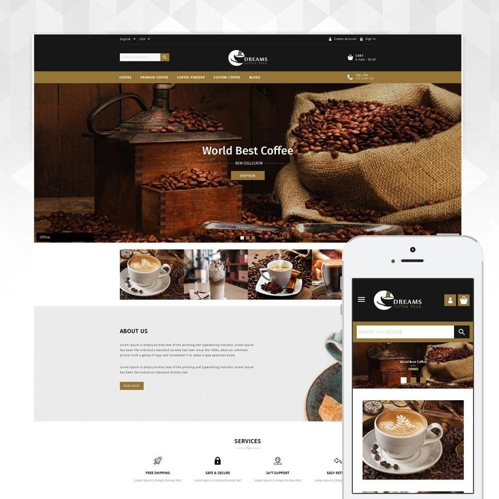 theme - Eten & Restaurant - Dreams - Coffee Shop - 1