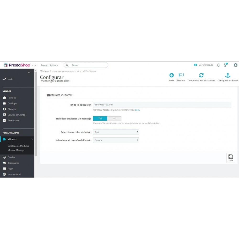 module - Asistencia & Chat online - Messenger cliente chat - 2