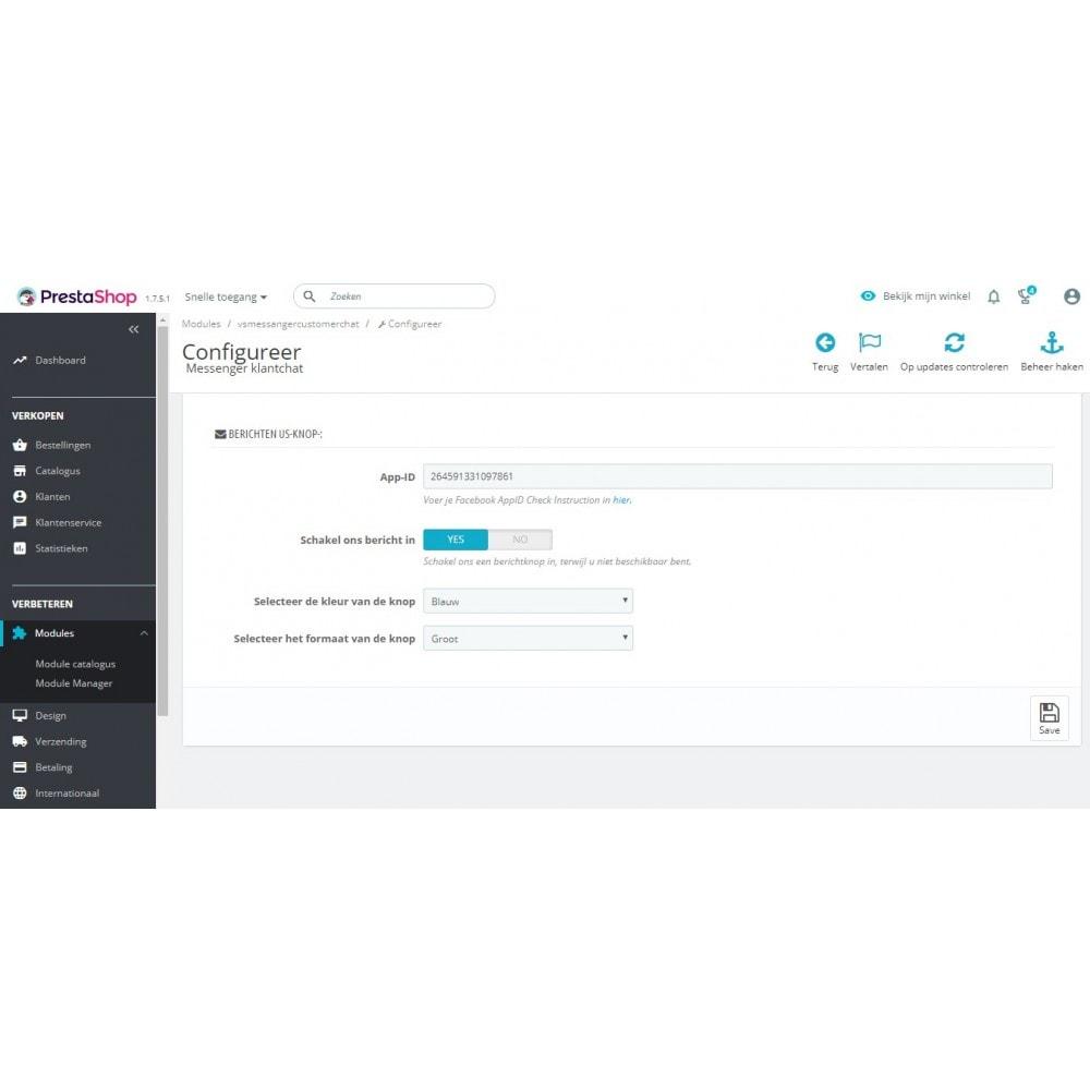 module - Suporte & Chat on-line - Bate-papo do cliente Messenger - 4
