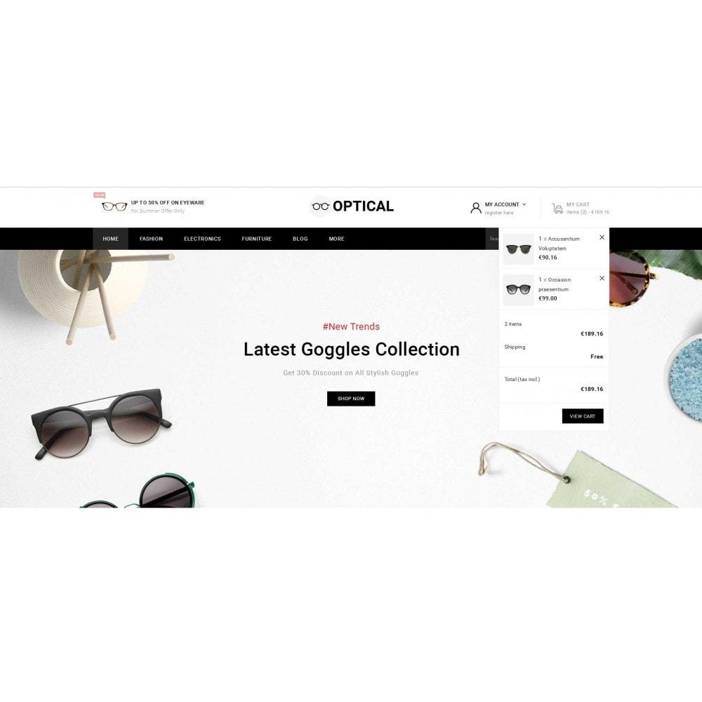 theme - Ювелирные изделия и Аксессуары - Optical - Goggles Store - 8