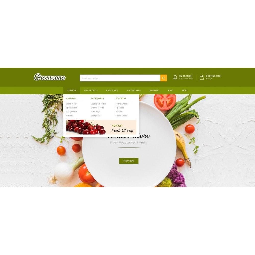 theme - Food & Restaurant - GreenZone - Organic Store - 7