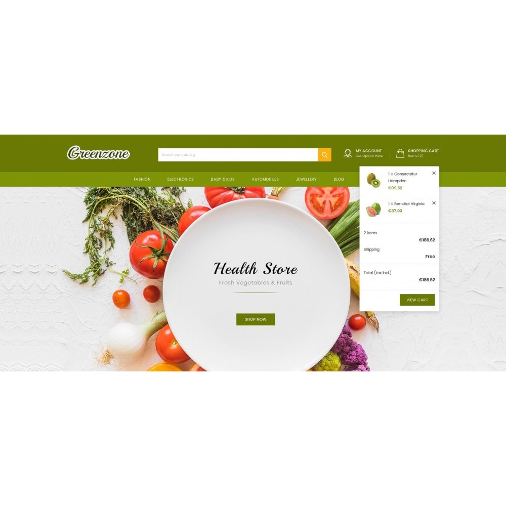 theme - Food & Restaurant - GreenZone - Organic Store - 8