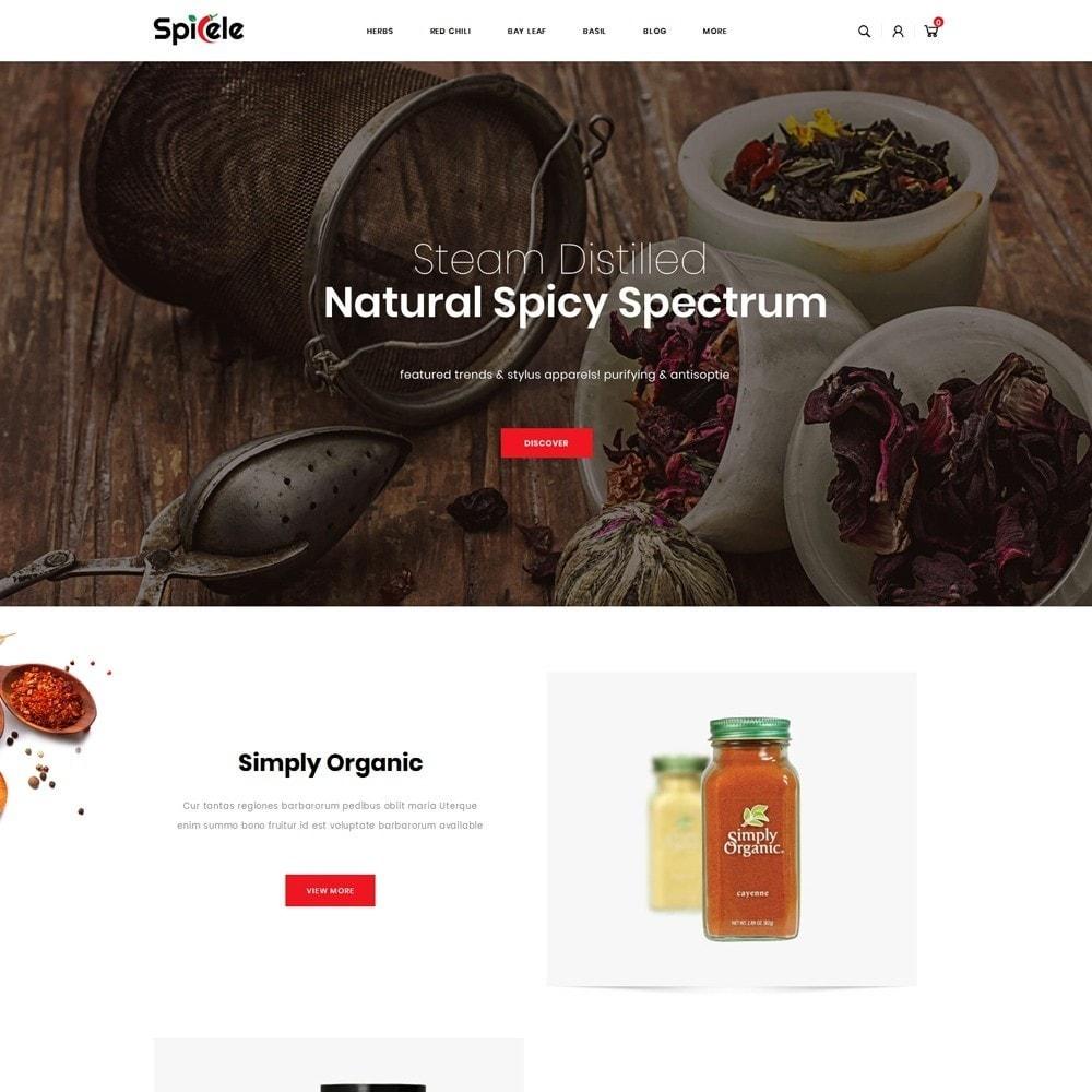 theme - Alimentos & Restaurantes - Spicele - Grocery store - 2