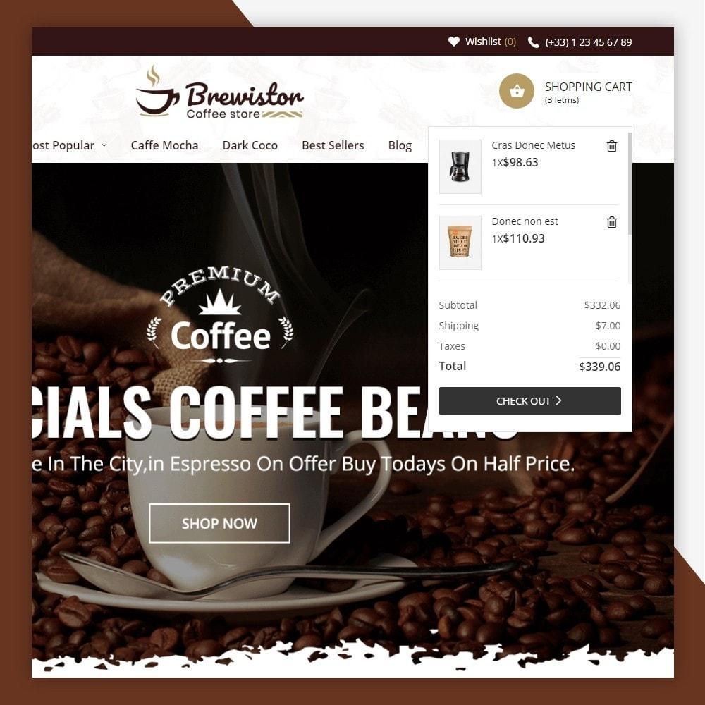 theme - Alimentos & Restaurantes - Brewistor - Coffee Store - 4