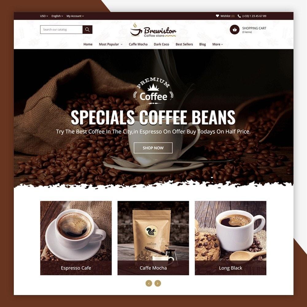 theme - Alimentation & Restauration - Brewistor - Coffee Store - 3