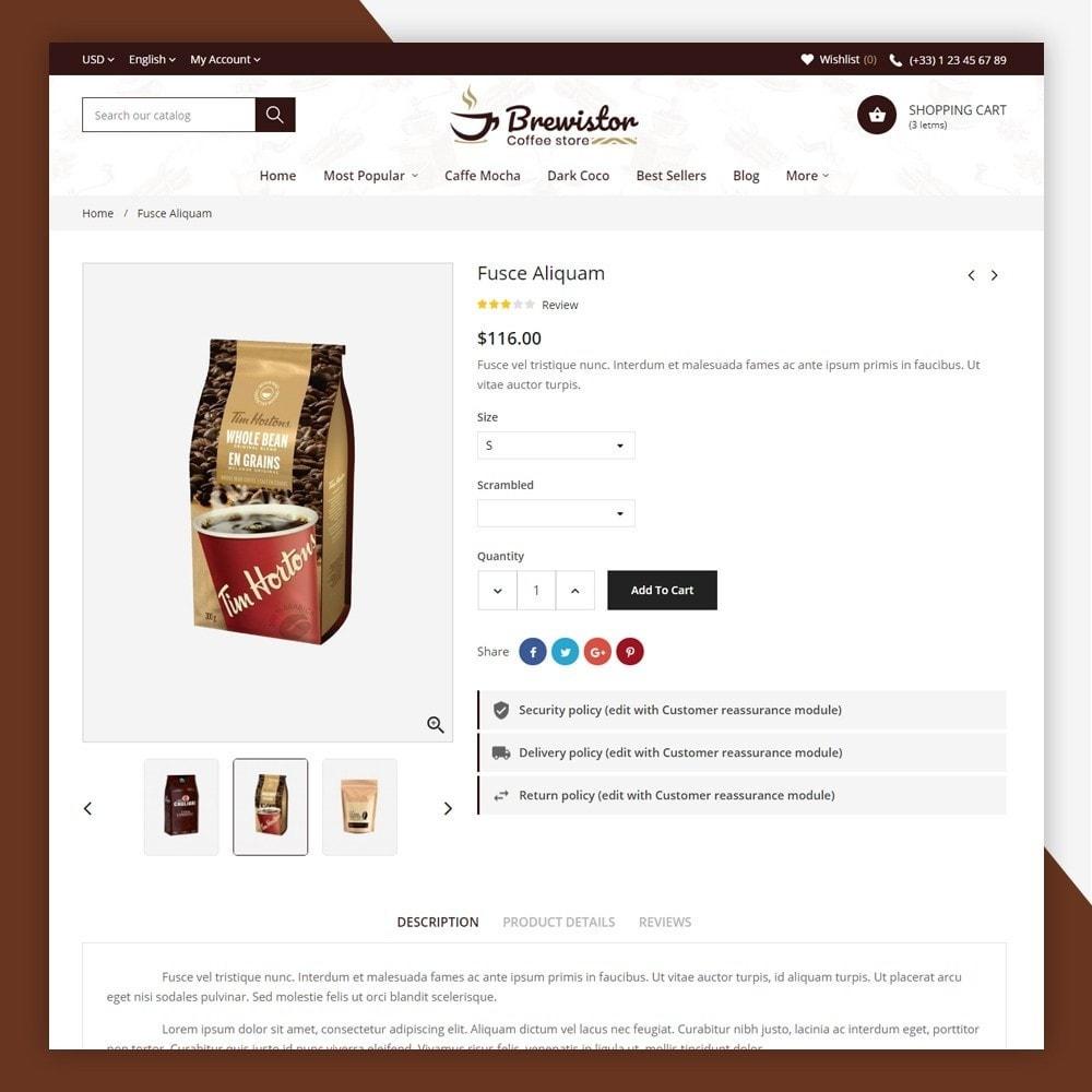 theme - Alimentation & Restauration - Brewistor - Coffee Store - 8