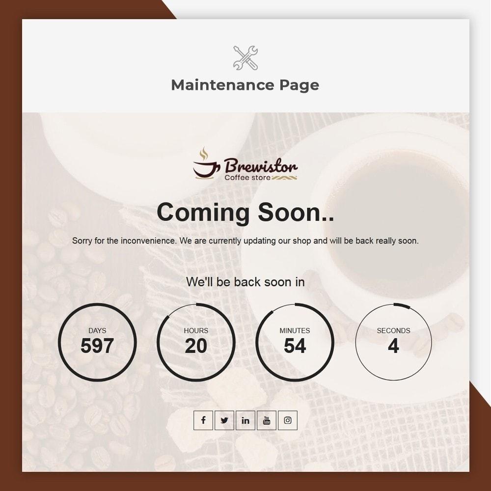 theme - Alimentation & Restauration - Brewistor - Coffee Store - 11