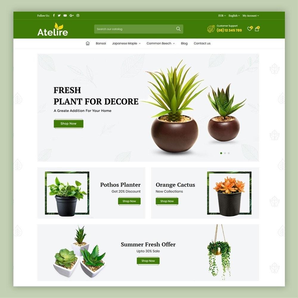 theme - Casa & Jardins - Atelier Plant Nursery & Garden Store - 2