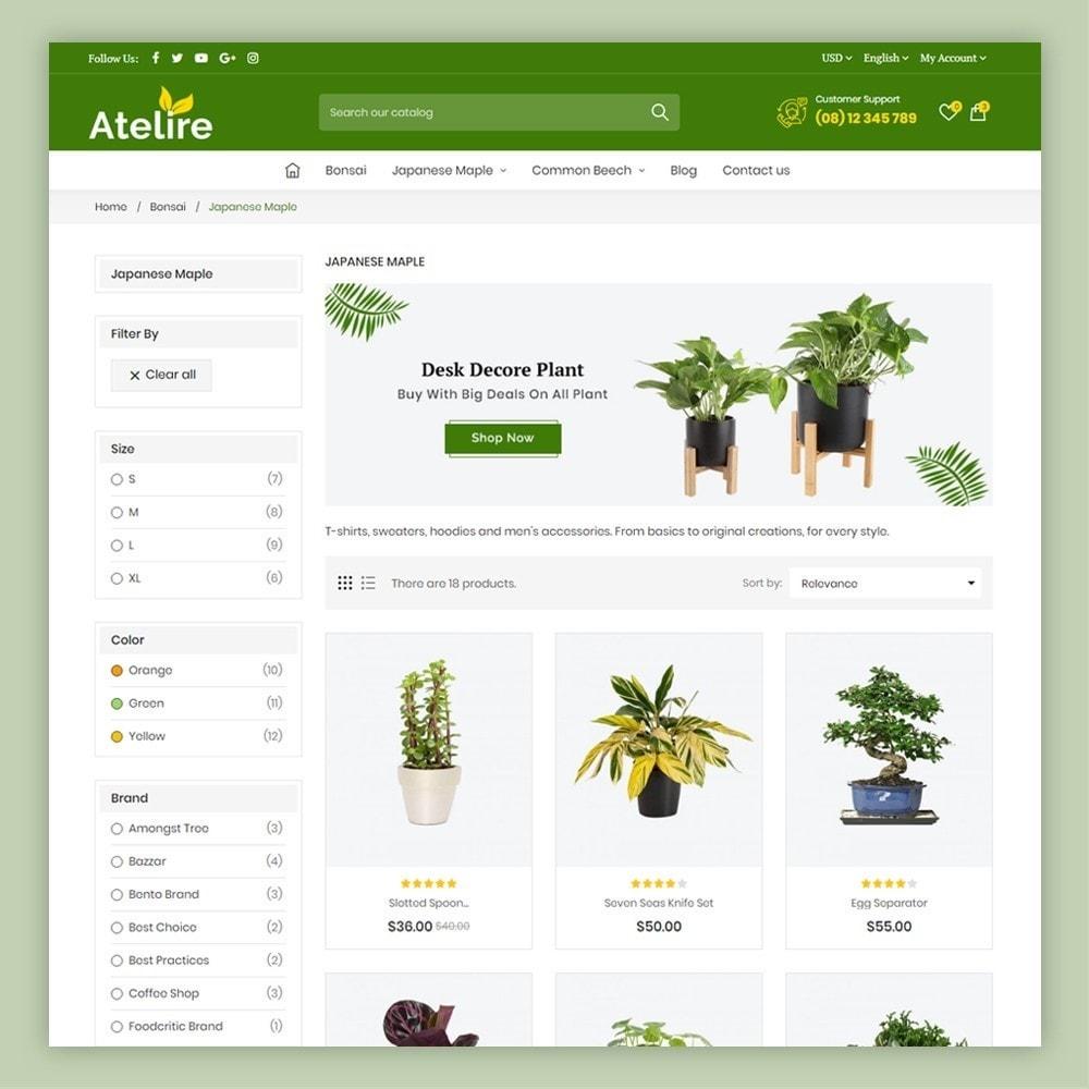 theme - Casa & Jardins - Atelier Plant Nursery & Garden Store - 5