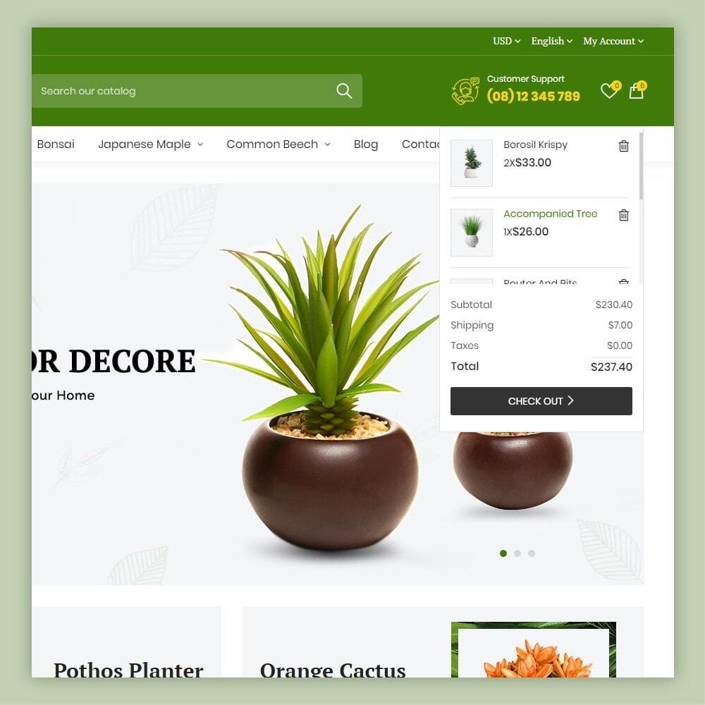 theme - Maison & Jardin - Atelier Plant Nursery & Garden Store - 4