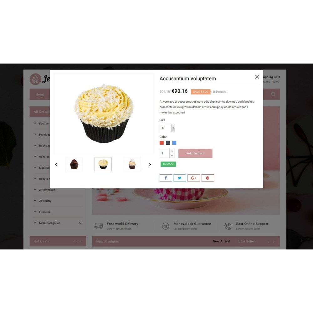 theme - Alimentos & Restaurantes - Jellify - Bakery Store - 6