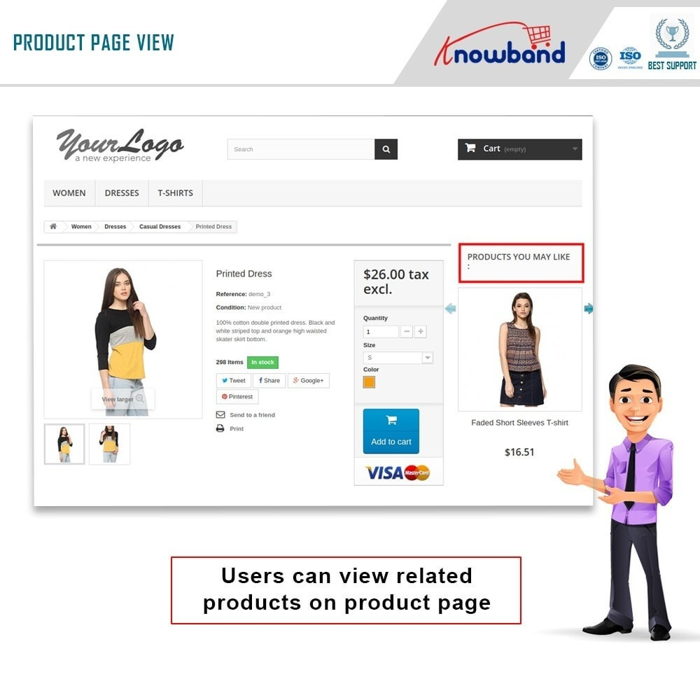 module - Sprzedaż krzyżowa & Pakiety produktów - Knowband - automatyczne produkty powiązane - 1