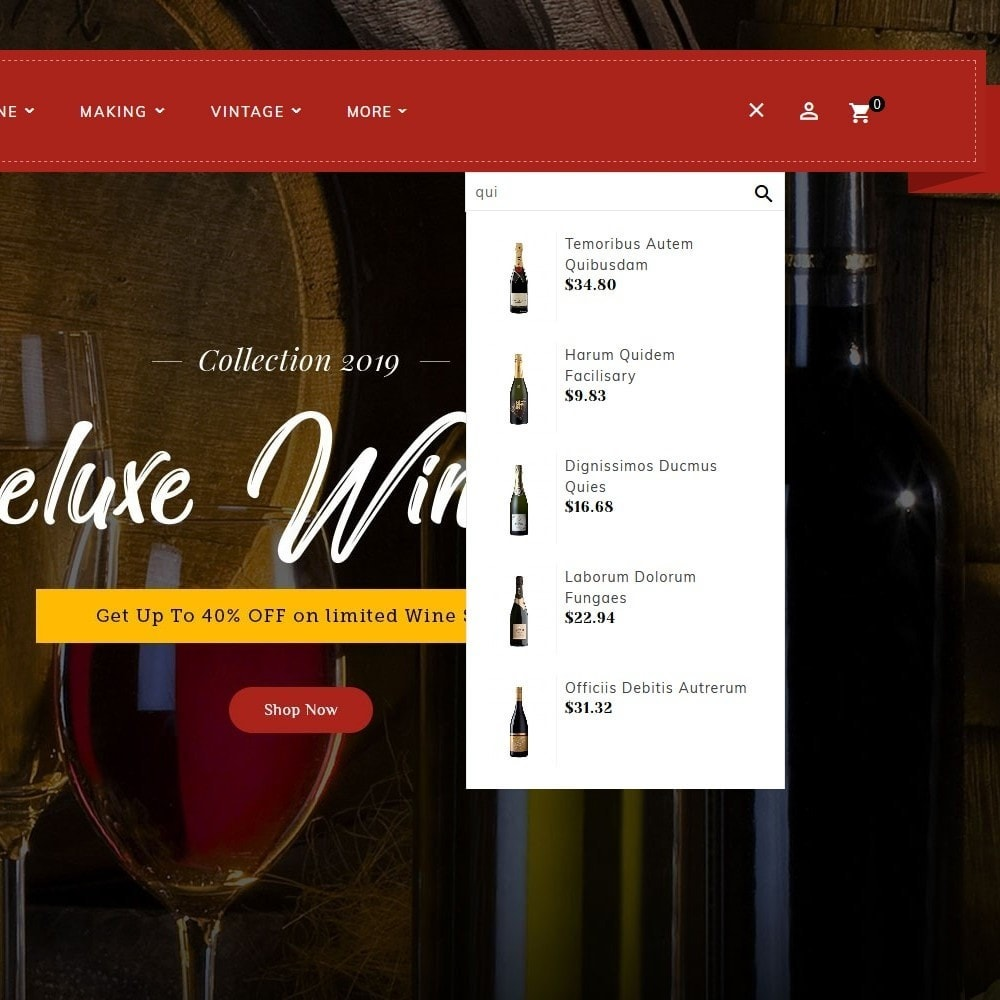 theme - Getränke & Tabak - Wineyard & Drinks - 10