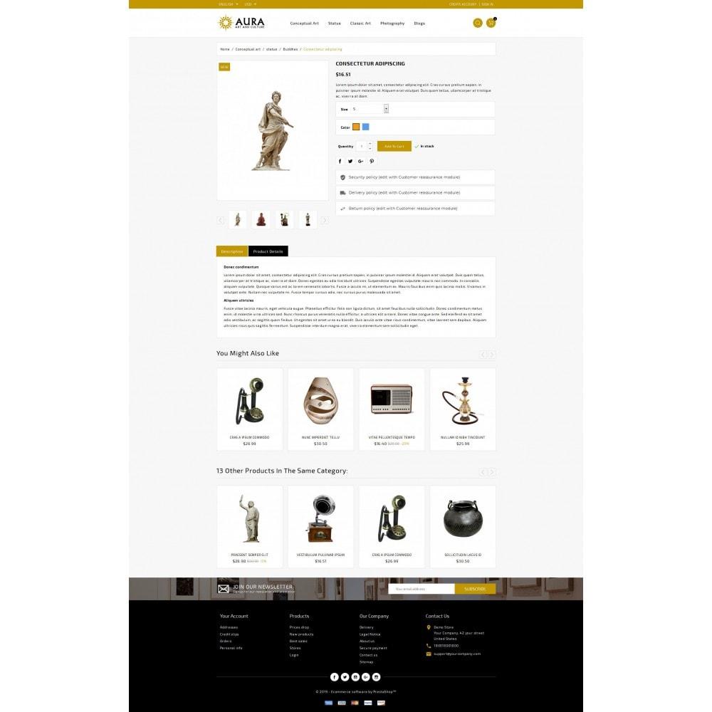 theme - Arte & Cultura - Aura - Art & Culture Store - 5