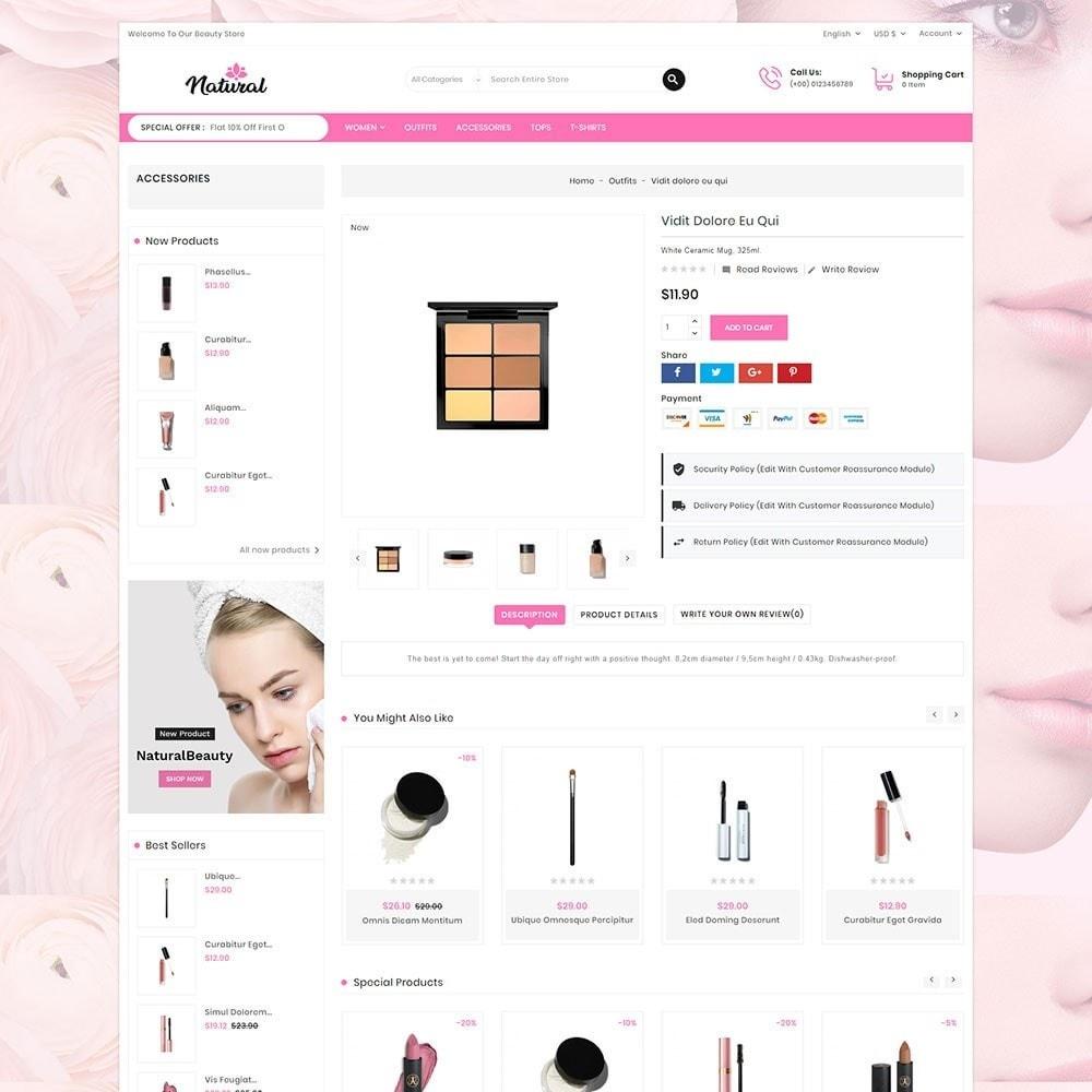 theme - Health & Beauty - Natural Cosmetics - 6